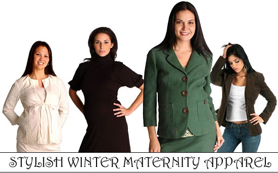 Winter Maternity clothes at Maternity Luxe